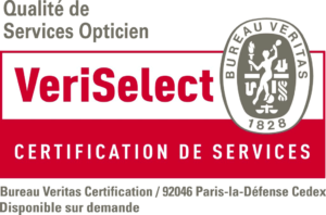 "La certification ""veriselect opticien "" dispensée par le bureau veritas, vous assure un service de qualité."