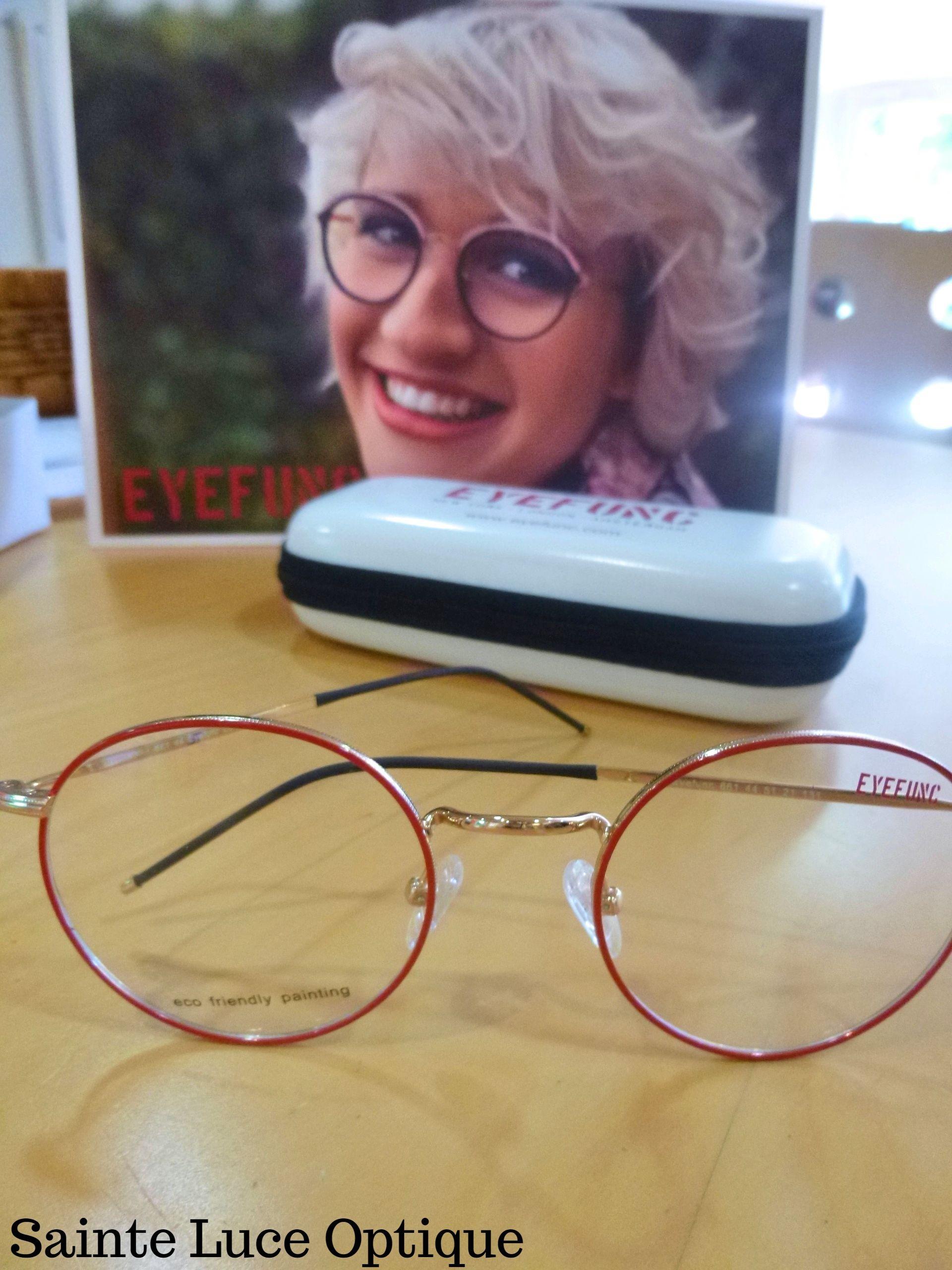Urbaine et pétillante la nouvelle collection Eyefunc! A découvrir à Sainte Luce Optique!