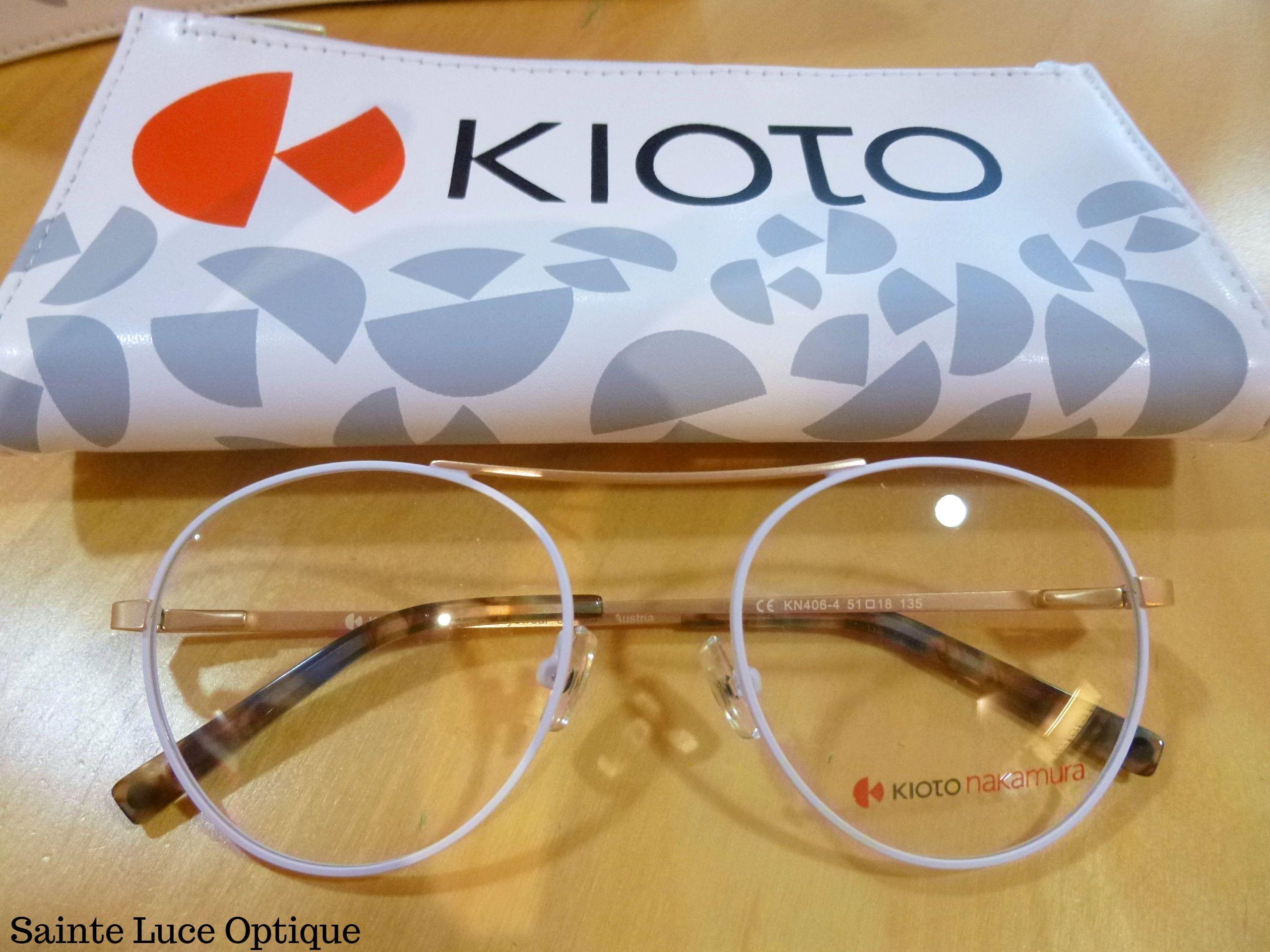 Venez découvrir les Kioto nakamura à Sainte Luce Optique!