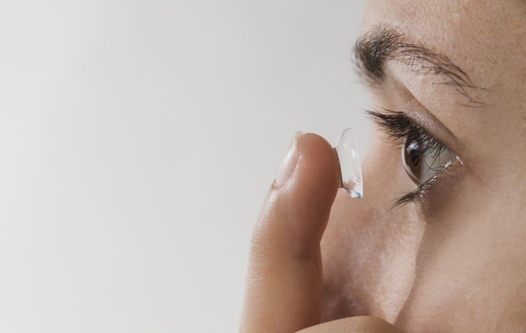 lentille de contact